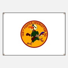 148th Fighter Squadron Banner