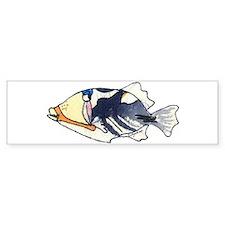 Humu Fish Bumper Stickers
