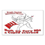 Cupid Rectangle Sticker