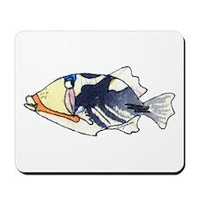 Humu Fish Mousepad