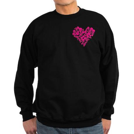 Heart Full of Skulls Sweatshirt (dark)