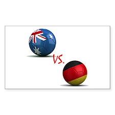 Germany vs Australia Decal