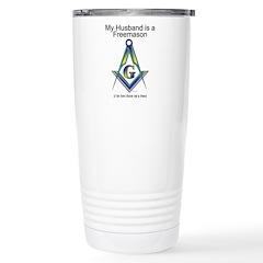 The Not so free Freemason Travel Mug