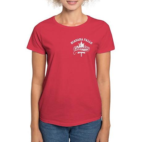 Niagara Falls Canada Women's Dark T-Shirt