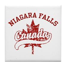 Niagara Falls Canada Tile Coaster