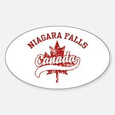 Niagara Falls Canada Decal