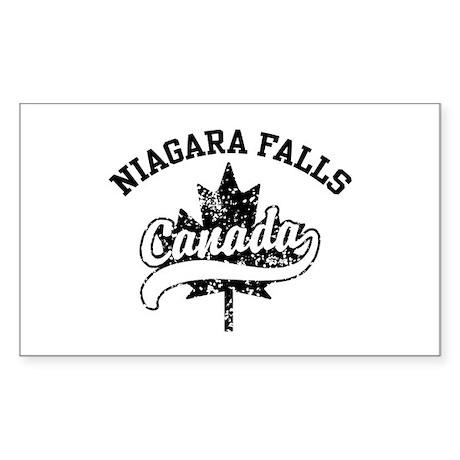 Niagara Falls Canada Sticker (Rectangle)