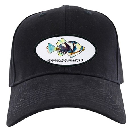 HumuNuku Fish Black Cap
