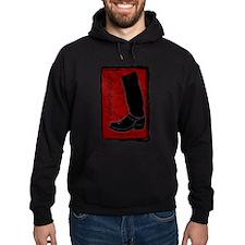 Boot Black Hoodie
