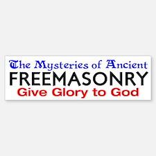 Mysteries of FreeMasonry Bumper Bumper Bumper Sticker