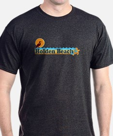 "Holden Beach NC ""Beach"" Design T-Shirt"