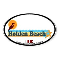 "Holden Beach NC ""Beach"" Design Decal"