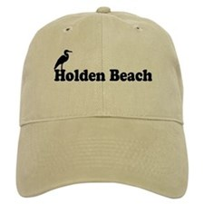 "Holden Beach NC ""Beach"" Design Baseball Cap"