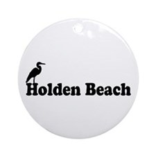 "Holden Beach NC ""Beach"" Design Ornament"