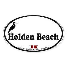 """Holden Beach NC """"Beach"""" Design Decal"""