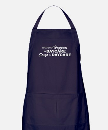 Whatever Happens - Daycare Apron (dark)