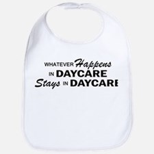 Whatever Happens - Daycare Bib