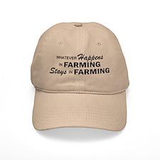 Whatever Happens - Farming Baseball Cap