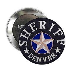 "Denver Sheriff 2.25"" Button"