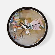 A TRIP TO WONDERLAND Wall Clock