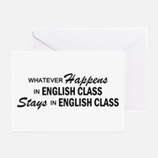Whatever Happens - English Class Greeting Cards (P