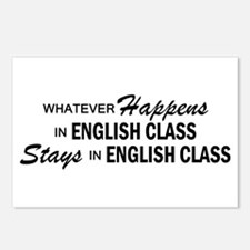 Whatever Happens - English Class Postcards (Packag
