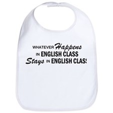 Whatever Happens - English Class Bib