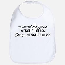 Whatever Happens - English Class Bib