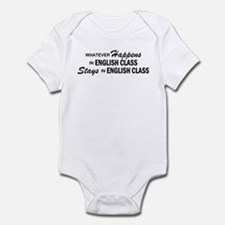 Whatever Happens - English Class Infant Bodysuit