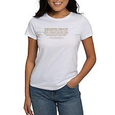 Amazing Grace - hymn lyrics (Tee)