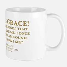 Amazing Grace - hymn lyrics (Mug)