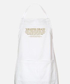 Amazing Grace - hymn lyrics (Apron)