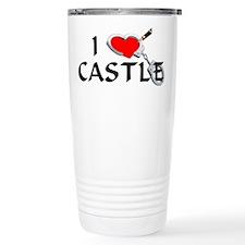 Castle style 2 Stainless Steel Travel Mug