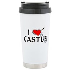 Castle style 2 Stainless Steel Travel Mug