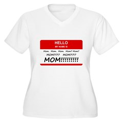 Hello My Name is Mom, Mom, Mom T-Shirt