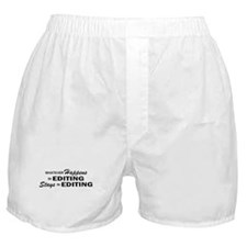 Whatever Happens - Editing Boxer Shorts