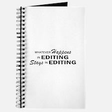 Whatever Happens - Editing Journal