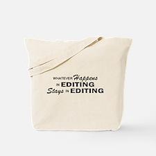 Whatever Happens - Editing Tote Bag