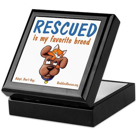My Favorite Breed Keepsake Box