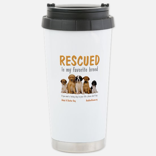 My Favorite Breed Stainless Steel Travel Mug