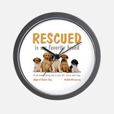 My Favorite Breed Wall Clock