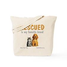 My Favorite Breed Tote Bag