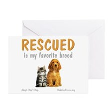 My Favorite Breed Greeting Cards (Pk of 10)
