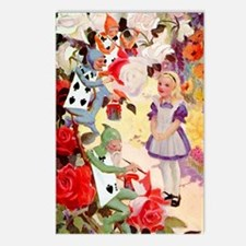 PAINTING THE QUEEN'S ROSE Postcards (Package of 8)