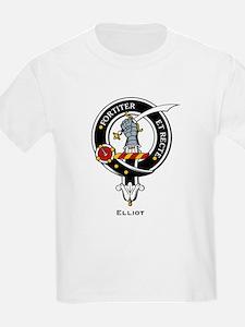 Elliot Clan Crest Badge Kids T-Shirt