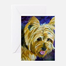 Terrier-misu Greeting Card
