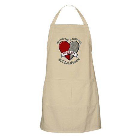My other half is finally back BBQ Apron