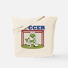Frog Soccer Goalie Tote Bag