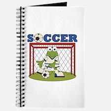 Frog Soccer Goalie Journal