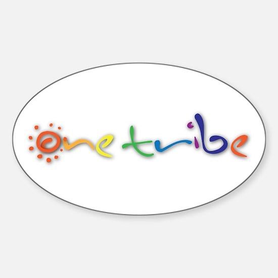One Tribe Sticker (Oval)